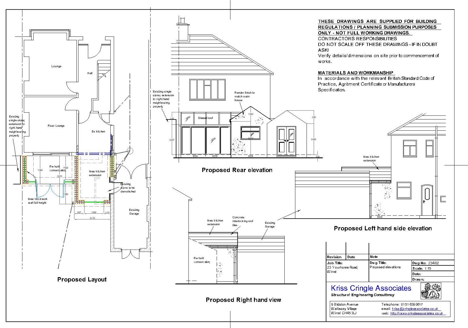 Kca services detail for Drainage layout for my house